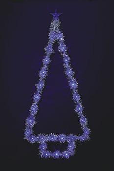 LEDティンセルツリー【送料無料】☆クリスマスイルミネーション・お庭や玄関先のデコーレーションにの画像