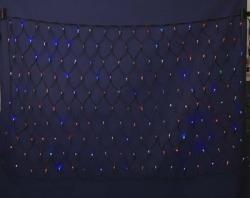 LEDネットライト180  マルチ【送料無料】☆クリスマスイルミネーション・お庭や玄関先のデコーレーションにの画像