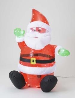 LEDブローサンタ☆クリスマスイルミネーション・お庭や玄関先のデコーレーションにの画像