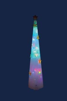 PPコーンツリーライト115☆クリスマスイルミネーション・お庭や玄関先のデコーレーションにの画像