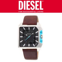 DIESEL腕時計 DZ1337 メンズ☆ブルークリアプレートを配置した斬新なデザイン【在庫一掃】の画像
