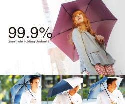 mabu UVコート折りたたみ傘 99.9% 【傘、雨傘、防水、】の画像