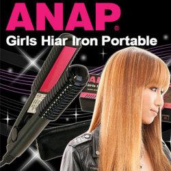 ANAPガールズヘアアイロンポータブル☆eggで人気急上昇中!ハイスペックminiヘアアイロン≪特別会員≫の画像