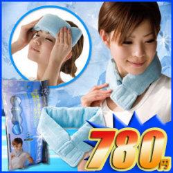 <<完売>>Eco&Cool2Wayジェルバンド☆熱中症対策に!冷凍庫で凍らせてクールダウン 熱中症対策グッズ ジェル