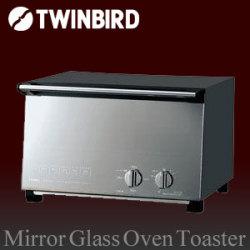 ミラーガラスオーブントースター TS-D017PB☆シームレスミラーガラスで焼きムラ軽減、美味しさUPの画像