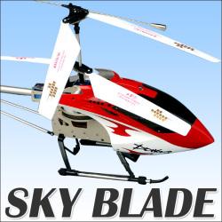 ≪完売≫ラジコン ヘリコプター スカイブレイド【送料無料】☆3ch本格操作でリアルな飛翔感!