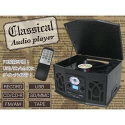 《完売》Classical オーディオプレーヤー TCD-99E【送料無料】☆PC接続不要!USB/SD/MMCにダイレクト録音!