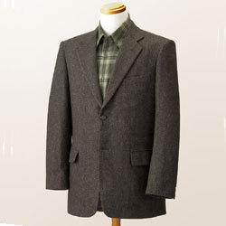 トム・モリス シルクウール混ジャケット☆暖かく、軽く、肌触りの良いジャケットの画像
