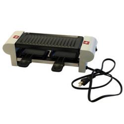 RACLETTE DUO SWISS ラクレットグリル 2人用☆ラクレットにも使える!3役便利調理器具の画像