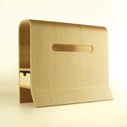 大和工芸手作りWITH?(収納付きティッシュケース)YK08-104 ☆日用品を収納できるティッシュケースの画像