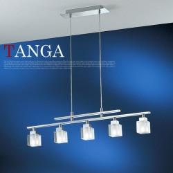 エグロ(EGLO) TANGA ペンダントライト5灯 84091J (タンガ)【送料無料】☆お部屋の雰囲気をガラリと変えるインテリア照明の画像