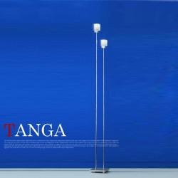 エグロ(EGLO) TANGA ガラスセードスタンドライト2灯 84093J (タンガ) 【送料無料】☆お部屋の雰囲気をガラリと変えるインテリア照明の画像