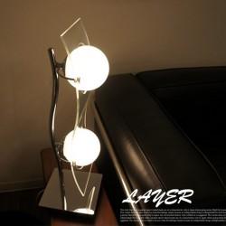 エグロ(EGLO) LAYER テーブルスタンドランプ 89596J 【送料無料】☆お部屋の雰囲気をガラリと変えるインテリア照明の画像