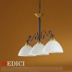 エグロ(EGLO) MEDICI ガラスセードシーリングランプ3灯 85445J (メディチ) 【送料無料】☆お部屋の雰囲気をガラリと変えるインテリア照明の画像