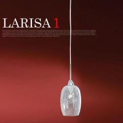 エグロ(EGLO) ラリサ1(LARISA1) クリア 27705J 【送料無料】☆お部屋の雰囲気をガラリと変えるインテリア照明の画像