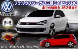 《完売》ラジコン 車 ラジコンカー RC VOLKSWAGEN GOLF GTI☆正規ライセンスラジコンカーフォルクスワーゲン ゴルフ