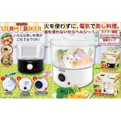 D-STYLIST スチームクッカー☆火を使わずに、電気で蒸し料理。油を使わないからヘルシー!の画像