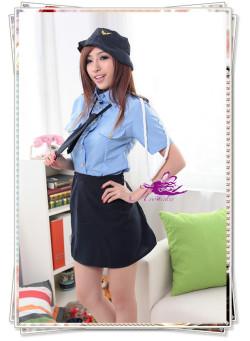 5333 リアル交通課婦人警官さんのコスプレ☆イベントやパーティーにコスプレ!の画像