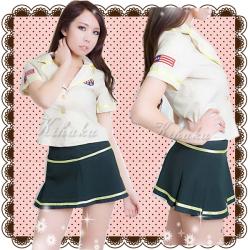 5342*ミニスカートのリアル婦人警官コスプレ☆イベントやパーティーにコスプレ!の画像