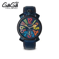 ガガミラノ GaGa MILANO 手巻き腕時計 マヌアーレ MANUALE 48mm 限定モデル 5016.4【送料無料】☆普通のモデルでは満足できない人に!の画像