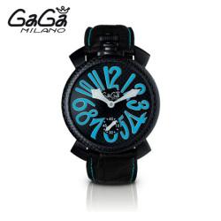 ガガミラノ GaGa MILANO 手巻き腕時計 マヌアーレ MANUALE 48mm 限定モデル 5016.7【送料無料】☆普通のモデルでは満足できない人に!の画像