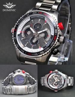 OMINIC ドミニク メンズ腕時計 DS1111G-BB☆奇抜なデザインとギミックで注目を集めているブランドの画像