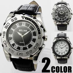 鏡面メタル・ビッグフェイス腕時計C-W-DX4☆厚みのあるビッグフェイスでアクセサリーとしての効果も◎の画像