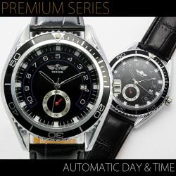自動巻バックスケルトン腕時計AC-W-B
