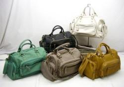 5ポケ2WAYバッグ☆♪フロントに5つのポケットがついた収納上手な2WAYバッグの画像