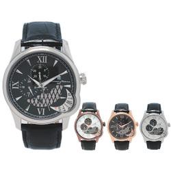 Salvatore Marra サルバトーレマーラ マルチファンクション メンズ腕時計 SM10012☆高級感漂うメンズウォッチ!の画像