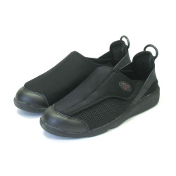 すたこらさんソフト100<ブラック>☆足に優しい抜群の履き心地、超軽量モデルで歩くのが楽しくなる!の画像