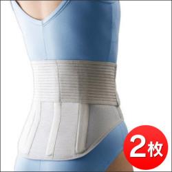 【送料無料】骨骨先生の新腰用サポートベルト<同サイズ2枚セット>の画像