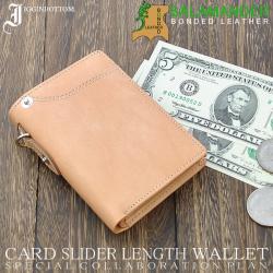 イギンボトム&サラマンダー 縦型財布 IG-704☆短財布とは思えないほどのカードポケットの豊富さの画像