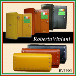 ロベルタビビアーニ 長財布 RV3903☆デキる!大人女性の手元を飾る、スマートなエナメル上質長財布。の画像
