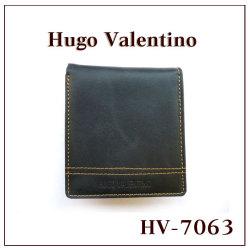 ヒューゴバレンチノ 二つ折り財布 HV-7063☆シンプルの魅力をスマートに伝える。ヒューゴの上質二つ折財布の画像