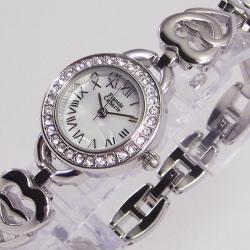 Francis Cabarie フランシス・キャバリエ ブレスウォッチ FCB-001MF(ハート)☆アクセサリー感覚で着けられる腕時計!の画像