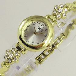 Francis Cabarie フランシス・キャバリエブレスウォッチ FCB-004MF(フラワー)☆アクセサリー感覚で着けられる腕時計!の画像