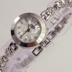 Francis Cabarie フランシス・キャバリエ ブレスウォッチ FCB-005MF(ラインストーン)☆アクセサリー感覚で着けられる腕時計!の画像