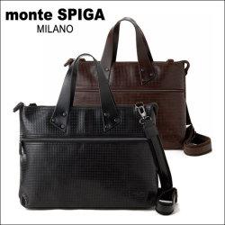 monte SPIGA(モンテスピガ)ブリーフケースMOSY2934メンズバッグ☆リーズナブルにオシャレできるメンズブランドの画像