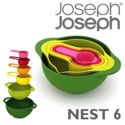 ≪完売≫JosephJoseph ジョゼフジョゼフ NEST 6☆シンプルなデザインで便利なキッチンツール6点セット!