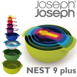 JosephJoseph ジョゼフジョゼフ NEST 9 プラス☆シンプルで便利なキッチンツール9点セット!滑り止め付き!の画像