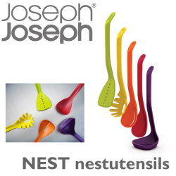 JosephJoseph ジョゼフジョゼフ NESTユテンシル☆シンプルなデザインで便利なキッチンツール5点セット!の画像