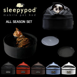 《完売》sleepypod MINI スリーピーポッドミニ オールシーズンセット【送料無料】☆いつものベッドがキャリーに!ペットに快適なお得なセット