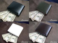 Decoroso コードバン短財布CL-1200 メンズ財布☆飽きさせない大人の魅力たっぷりの究極の財布の画像