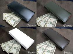 Decoroso コードバン長財布CL-1201 メンズ財布☆収納性たっぷりの機能性に優れた大人の財布の画像
