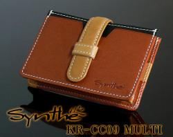 Synthe KR-CC09 MULTI カードケース(カード束収納) メンズ財布☆高級皮革使用!純日本製!の画像