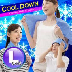 Eco & Cool New アイスパッド【L】☆\ 瞬間!ひんやり爽快 /今年の暑い夏を首元からひんやり爽快にの画像