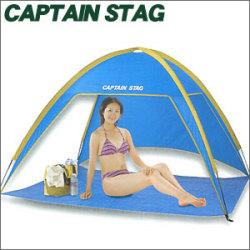 《完売》CAPTAINSTAG キャプテンスタッグ プリズム ビーチテント M-3122☆ビーチやピクニック、行楽まで幅広く活躍設営簡単なビーチテント