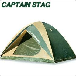 《完売》CAPTAINSTAG キャプテンスタッグ プレーナ ドームテント(5?6人用)(キャリーバッグ付)M-3102【送料無料】☆ベーシックなクロスポール型