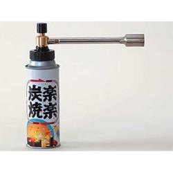 LOGOS(ロゴス)楽々炭焼き2 No.83201002☆着火剤感覚で使えるガスバーナーの画像